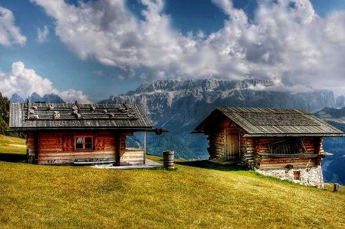 sella dolomites cottages