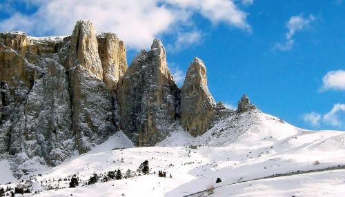 sella group sellaronda alpine