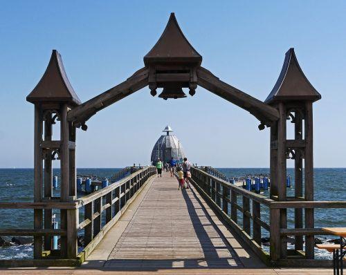 sellin rügen sea bridge