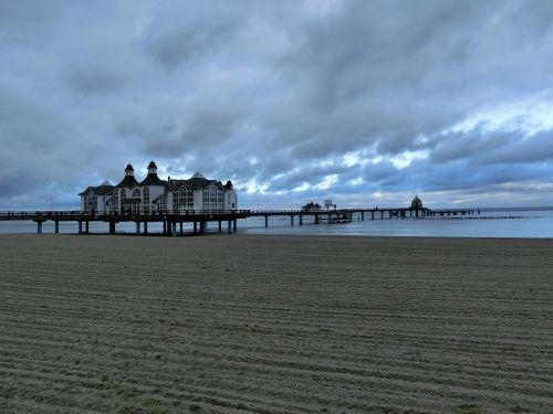 sellin beach baltic sea