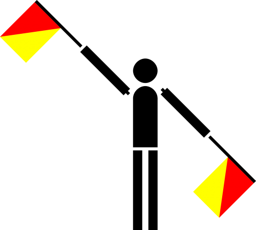 semaphore flag annul