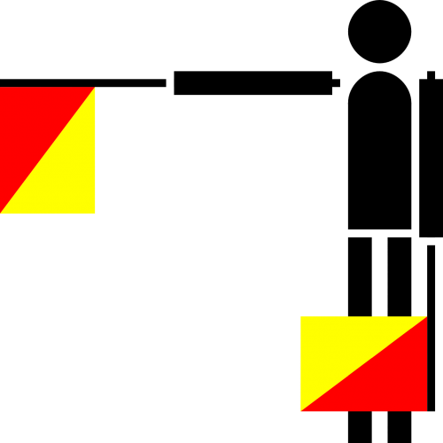 semaphore flag b or2