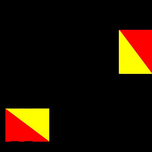 semaphore flag f