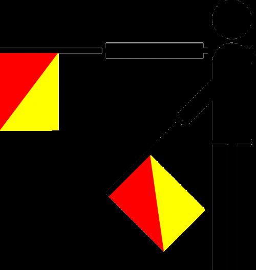 semaphore flag signal