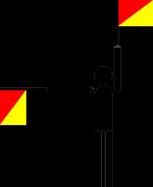 semaphore flag symbols