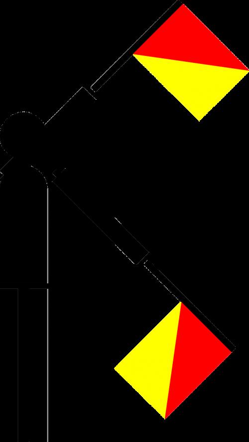 semaphore flag x