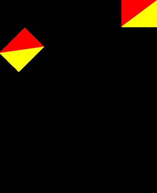 semaphore navy flag