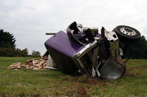 semi accident crash