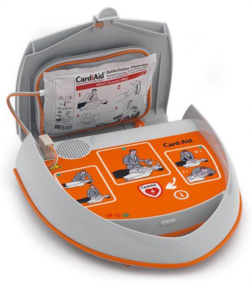 semi-automatic aed defibrillator