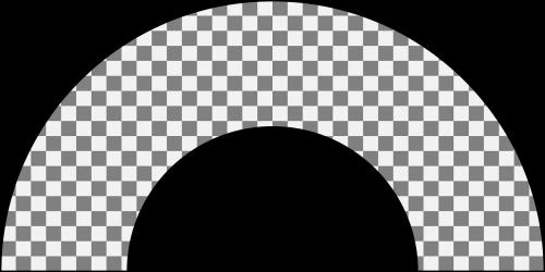 semi ring half-ring ring segment