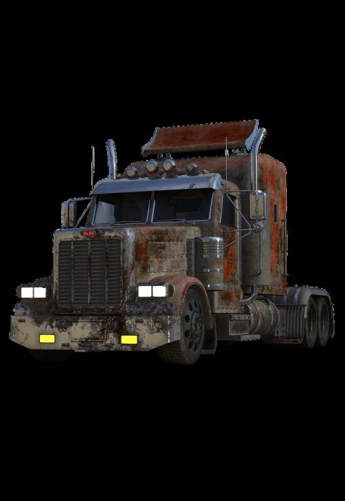 semi trailers tractor traffic
