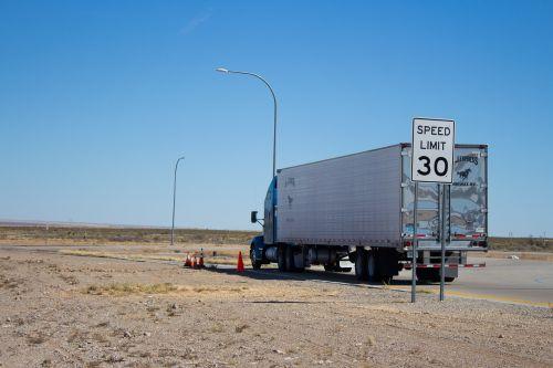 semi-truck transport semi truck