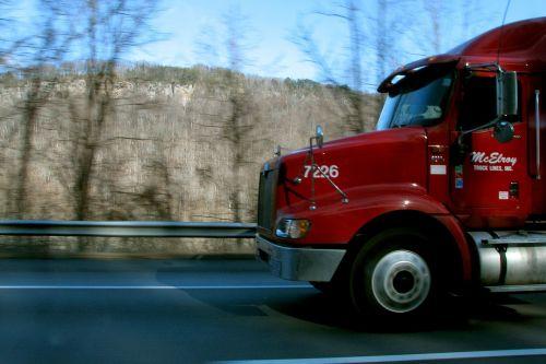 semi truck truck trucking