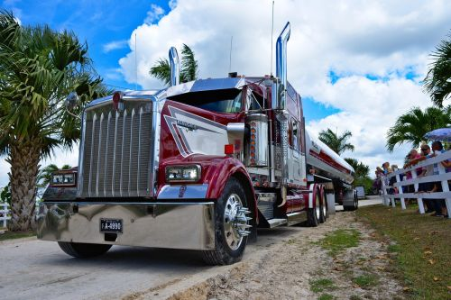 semi truck big rig transportation