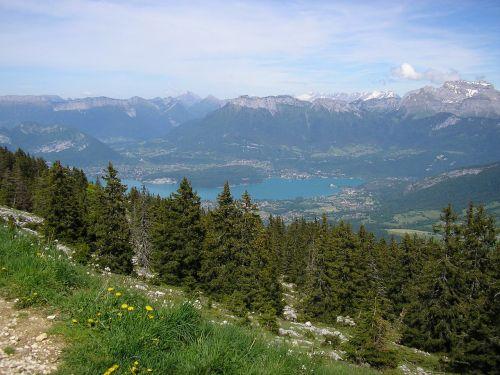 semnoz haute-savoie mountains