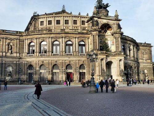 semper opera house dresden city