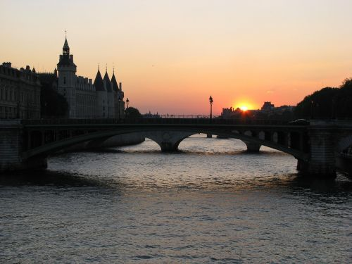 sena, france, paris, bridge