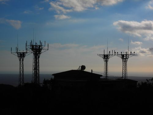 send system cell towers radar equipment