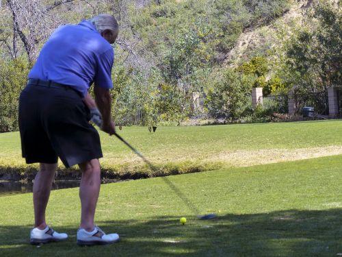 Senior Golfing