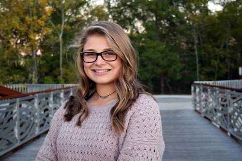 senior photos girl high school