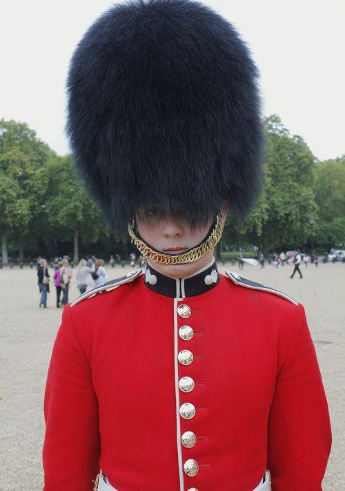 sentry marching palace guard