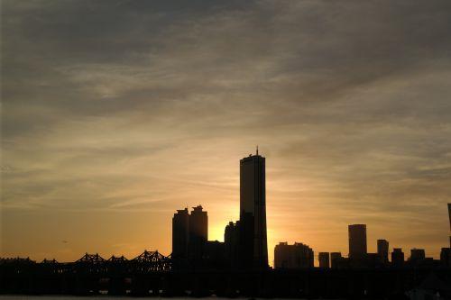 seoul sunrise 63 building