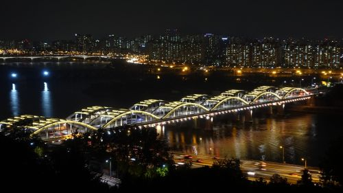 seoul night view han river