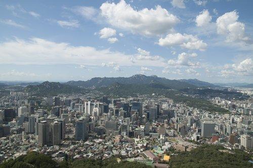 seoul  seoul urban city  korea