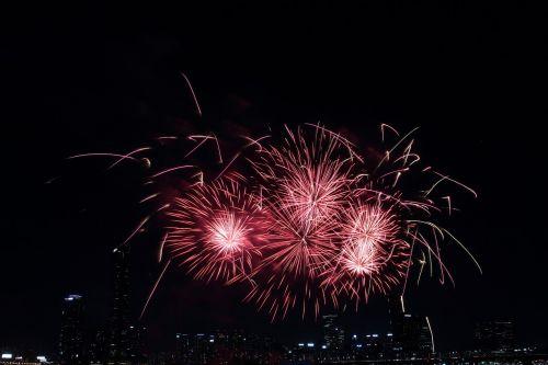 seoul international fireworks festival the night sky yeouido