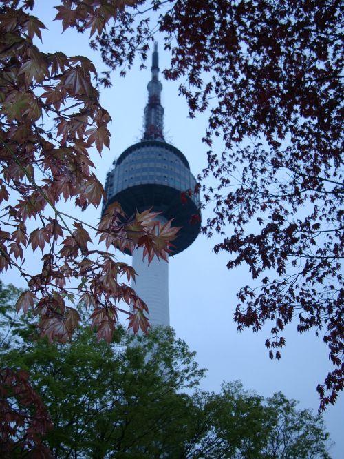 seoul namsan tower south korea seoul
