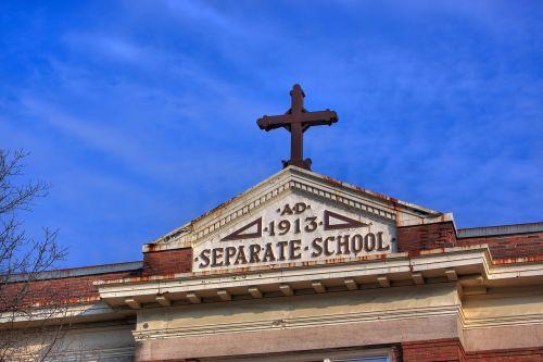 separate school 1913