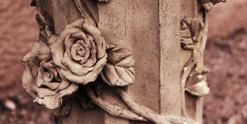 sepia garden statue statue
