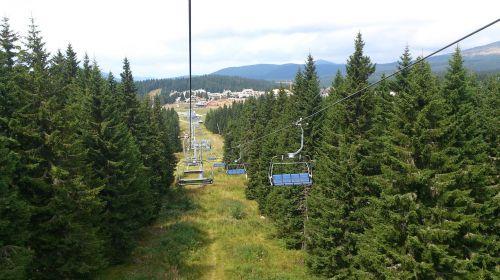 serbia kopaonik ski track
