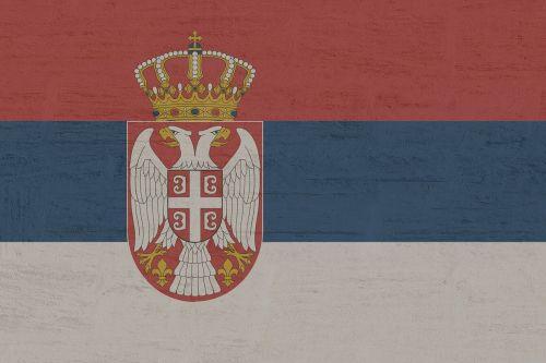 serbia flag symbol