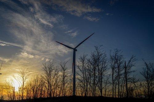 serbia  banat  windmill