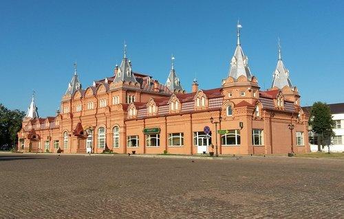sergiev posad  russia  architecture