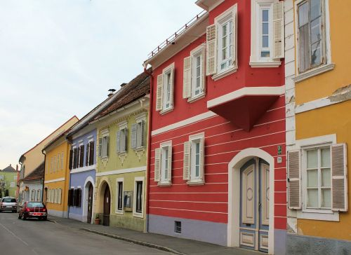 series colorful homes