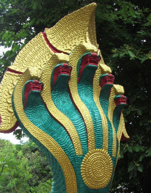 Serpents Claw Buddhist Ornament