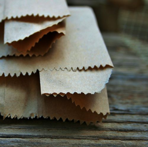 Serrated Edges Of Paper Packets