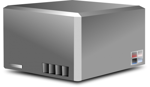 server box electronic