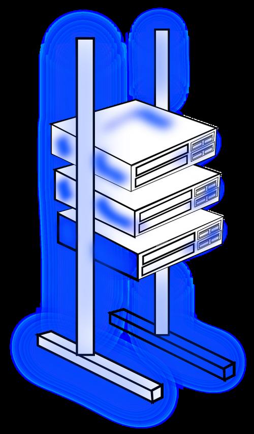 server frame rack