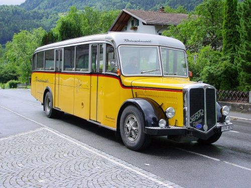 service bus bus oldtimer