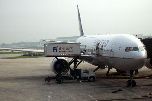 Servicing The Plane