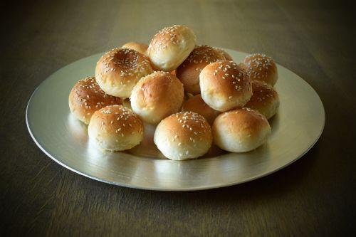 sesame buns food flavor