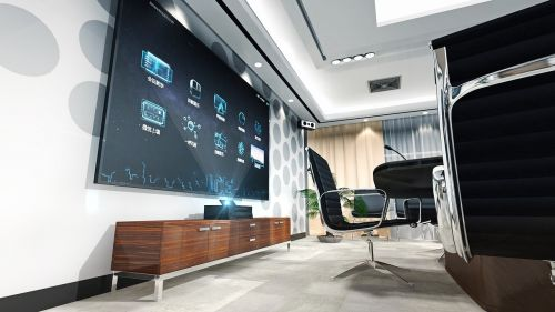set-top boxes conference interior design