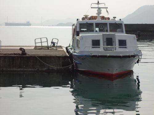 seto inland sea passenger ship tadanoumi port