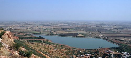 settlement landscape irrigation tank