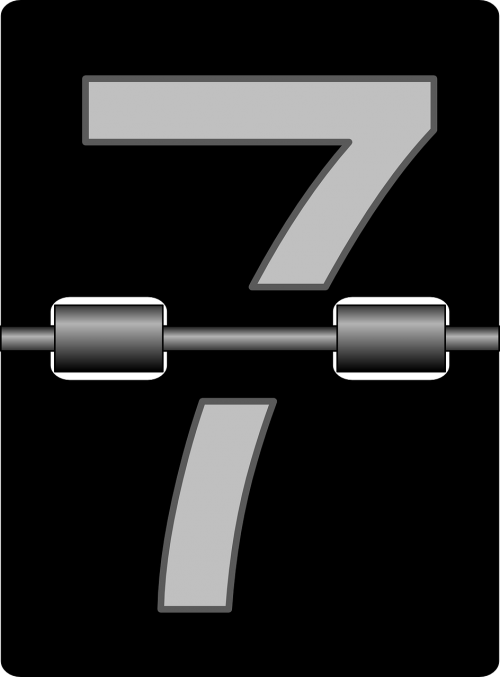 seven numbers alarm