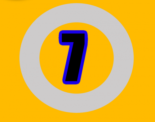 seven number numbers