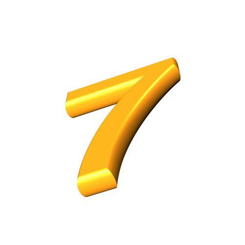 seven number digit